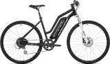 Elektrokolo Rock Machine Cross e350 lady +bat.418 Wh, mat black/silver/white 2019