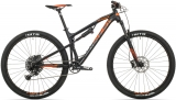 Rock Machine Blizzard XCM 30-29  mat black/neon orange/dark grey 2019