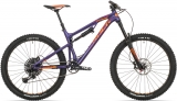 Rock Machine Blizzard 50 27 mat violet/neon orange/purple 2019