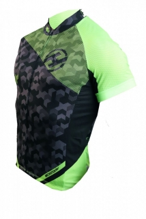 Dres HAVEN SINGLETRAIL men black/green vel. XXL