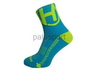Ponožky HAVEN LITE Silver NEO blue/yellow 2 páry