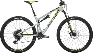 Rock Machine Blizzard XCM 70-29 mat grey/radioactive yellow/night blue 2019