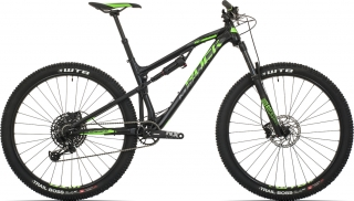 Rock Machine Blizzard TRL 50-29 mat black/neon green/dark grey 2019